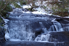 ラルマナイの滝・上流.JPG