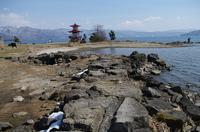 岬の先の 「浮見堂」.JPG