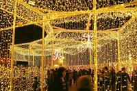 札幌大通り公園イリュミネーションジェリーパレス中.JPG