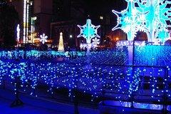 札幌大通り公園イリュミネーションスノークリスタル3丁目JPG
