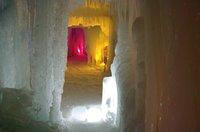 氷爆祭りドーム内トンネル.JPG