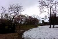 中小屋温泉「岩風呂から庭園」