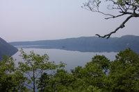 裏摩周展望台からの摩周湖