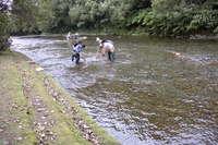 ウソタンナイ川砂金採掘体験