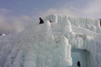 氷涛祭り天空回廊