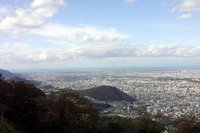 藻岩山から札幌市内1