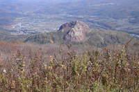 有珠山頂から昭和新山